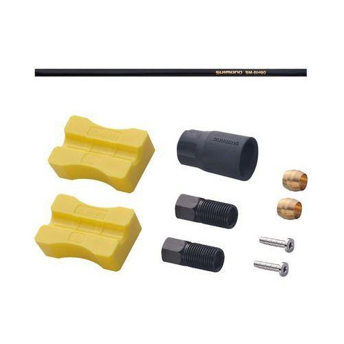 Esmbh90ssl170 przewód hamulcowy hydrauliczny  deore sm-bh90-ss 1700 mm tył czarny marki Shimano