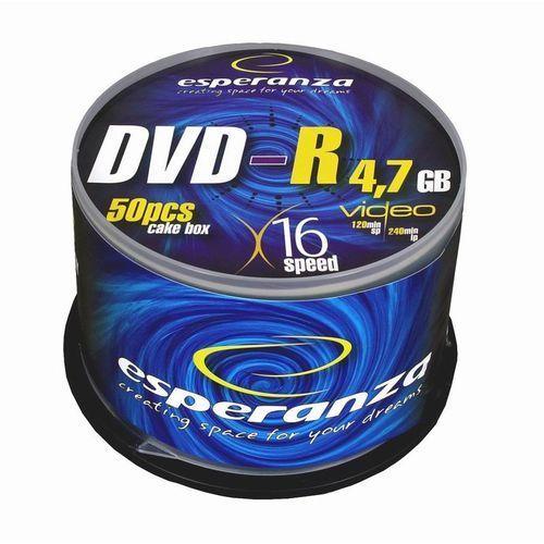 DVD+R ESPERANZA 16x 4,7GB (Cake 50)