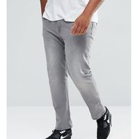 River Island Big and Tall Slim Fit Jeans In Grey Wash - Grey, slim