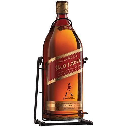 Whisky Johnnie Walker Red Label 4,5l kołyska, 1804