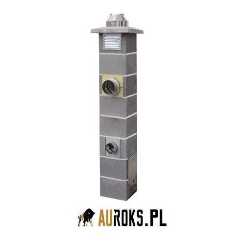 Jawar komin nord do paliw stałych fi 160 10,33 m + 2 x wentylacja