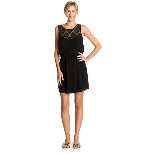 Sukienka - shelly dress black (90) rozmiar: m marki Rip curl