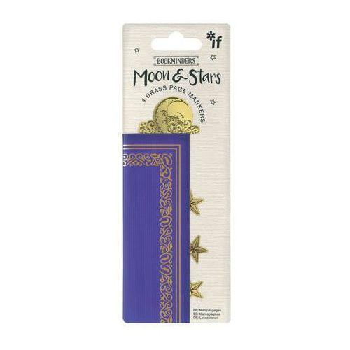 If Bookminders moon&stars - zestaw 4 metalowych zakładek (5035393403034)
