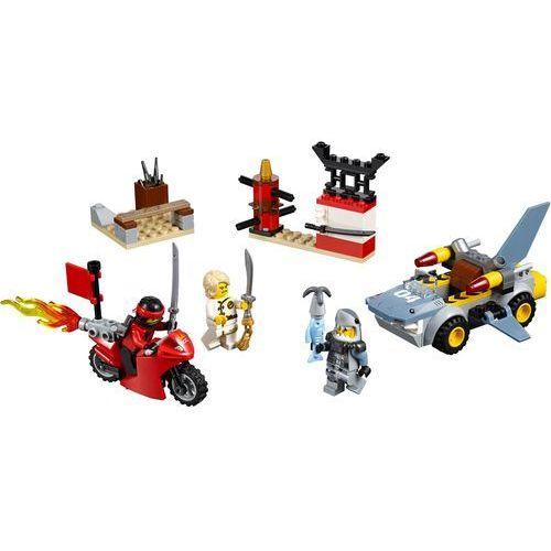 Lego JUNIORS Atak rekinów 10739