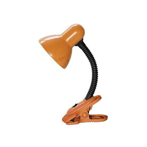 Lampa stołowa lampka biurkowa Rabalux Dennis 1x40W E27 pomarańczowy/czarny 4258
