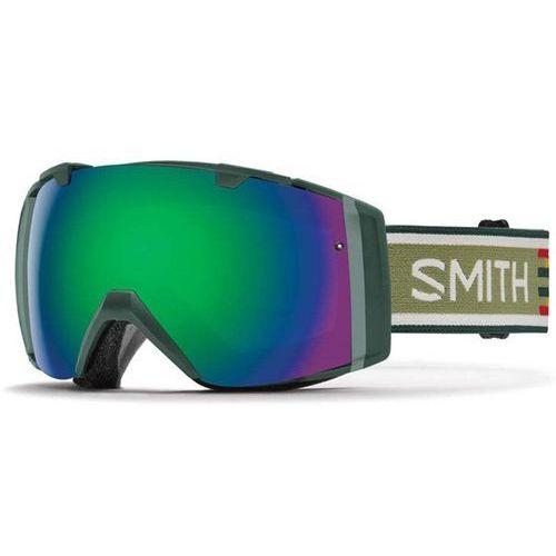 gogle snowboardowe SMITH - I/O Forest Woolrich Green Sol-X Mirror (XD6-99C5)