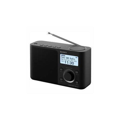 Radio z dab xdr-s61db czarny marki Sony