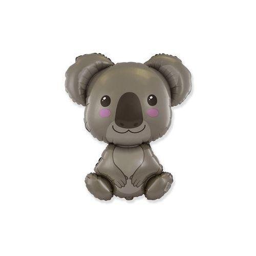 Balon foliowy do patyka Koala - 36 cm - 1 szt.