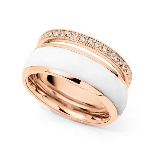 Biżuteria - pierścionek jf01123791505 170 rozmiar 13 - sale -30% marki Fossil
