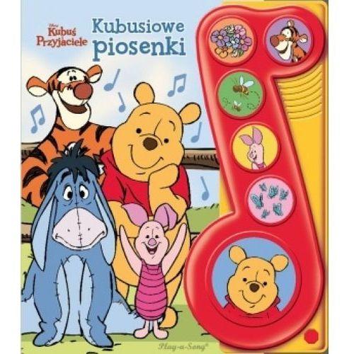 Disney Kubuś i Przyjaciele. Kubusiowe piosenki Książeczka dźwiękowa Praca zbiorowa - OKAZJE