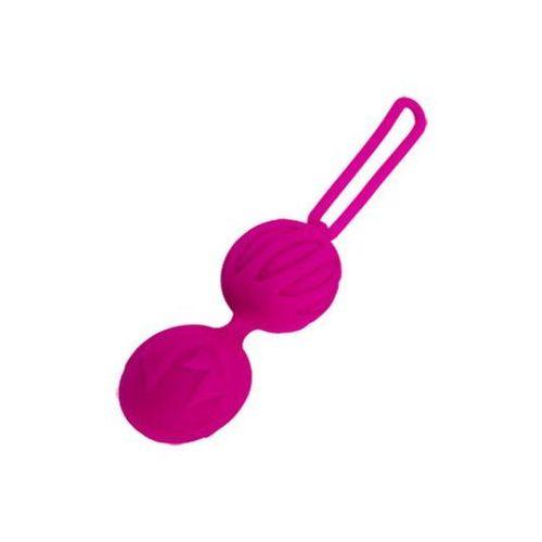 Kulki waginalne nieregularna powierzchnia rozmiar l fioletowe marki Adrien lastic