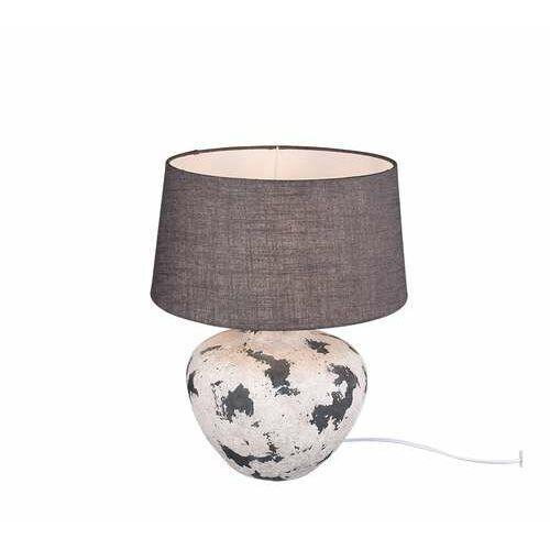 Trio RL Bay R50953811 lampa stołowa lampka 1x60W E27 szara/szara