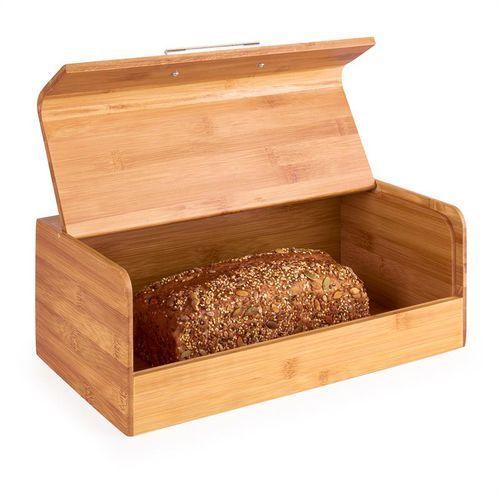 Klarstein Basket No.9 pojemnik na chleb bambus z uchwytem metalowym 7L
