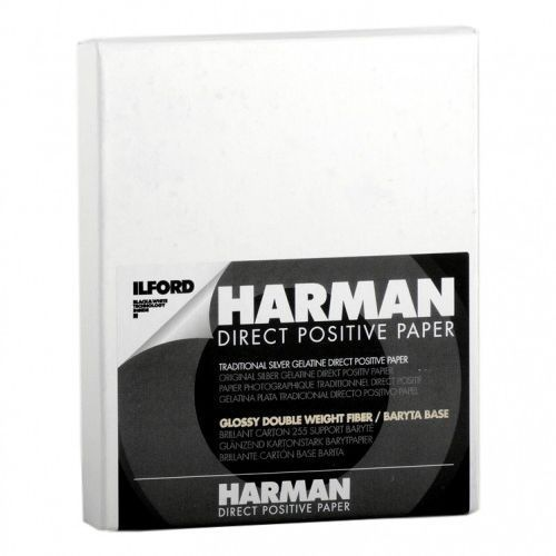 "Ilford Harman direct positive fb glossy 4x5""/25 szt."