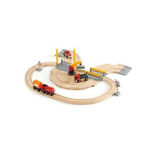 Brio world - rail & road crane set (7312350332087)