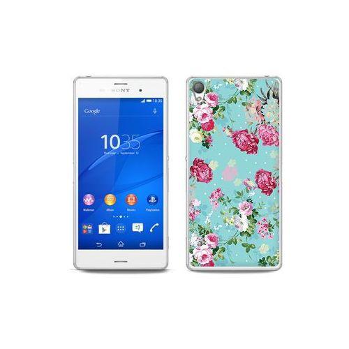 etuo Fantastic Case - Sony Xperia Z3 - etui na telefon Fantastic Case - różyczki na miętowym tle, ETSN125FNTCFC007000