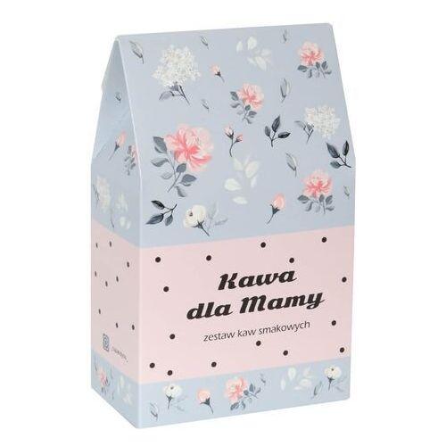 Kawa dla mamy w kwiecistej torebce - prezent upominek dla mamy z okazji dnia matki z kawą mieloną arabica - 10 smaków x 10g marki Cup&you cup and you