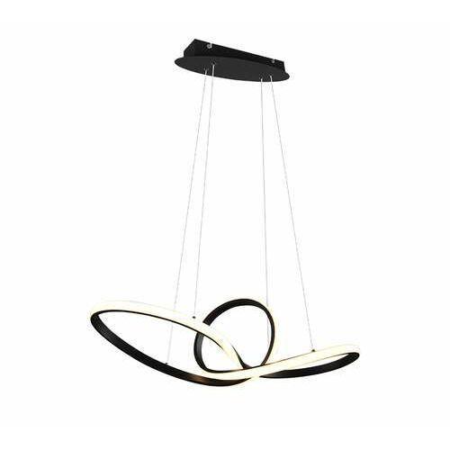 Trio RL Sansa R32751132 lampa wisząca zwis 1x28W LED czarna (4017807488708)