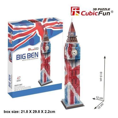 PUZZLE 3D Zegar Big Ben, 5_541091