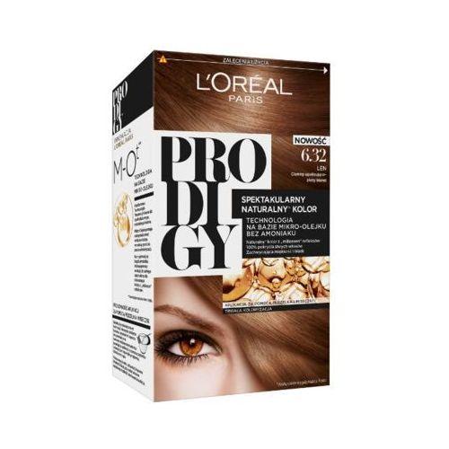 Loreal paris  prodigy 6.32 len farba do włosów