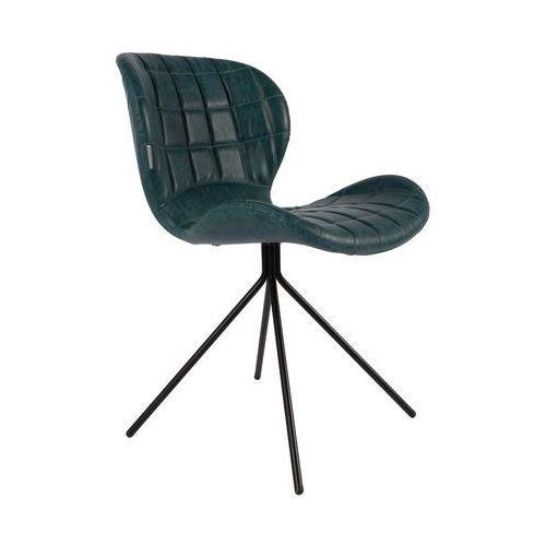 Zuiver Krzesło OMG LL PETROL 1100250, 1100250