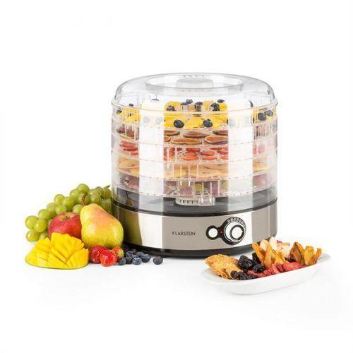 Klarstein Fruitower m suszarka do owoców i warzyw 5 poziomów stal szlachetna