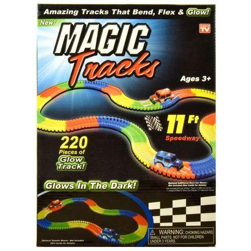 Broszio Magic Tracks Tor wyścigowy i Autko 3 LED