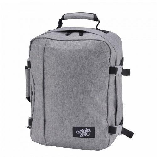 Plecak torba podręczna CabinZero mini Wizzair - ice grey, kolor szary