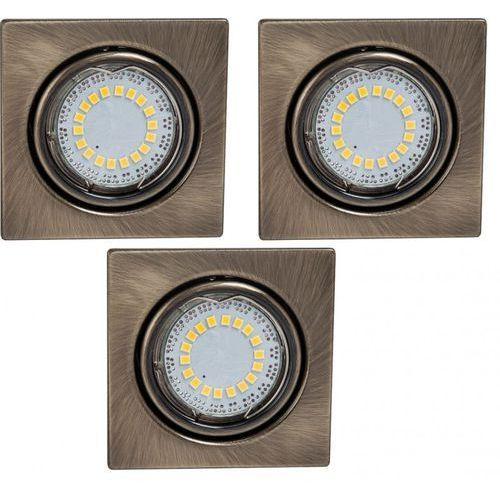 Spotlight Zestaw opraw stropowych cristaldream 2305311 patynowy + darmowy transport!