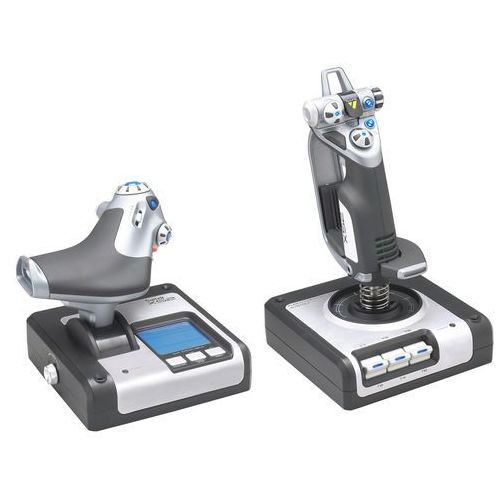 x52 flight control system joystick marki Logitech
