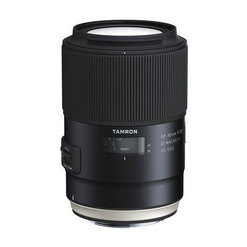 Tamron SP 90mm f/2.8 Di VC USD Macro Canon - produkt w magazynie - szybka wysyłka! (4960371006031)