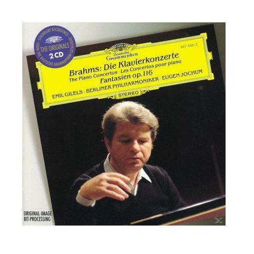 Emil gilels - brahms:klavierkonzerte 1,2 (originals) marki Universal music