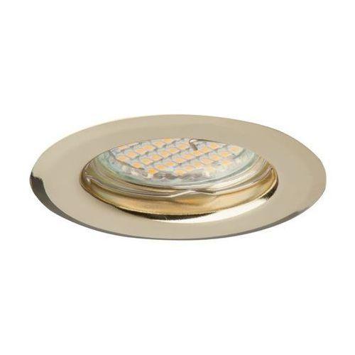 oprawa oprawka led halogenowa stała okrągła kolor złoty oh14 0831 marki Superled