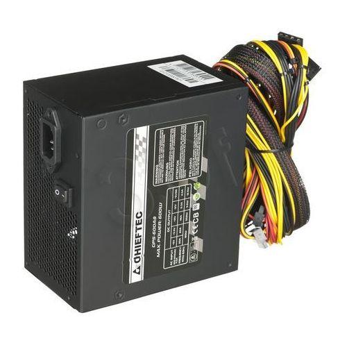 Zasilacz Chieftec GPS-600A8, 600W, box (GPS-600A8) Szybka dostawa! Darmowy odbiór w 20 miastach! (4710713239555)