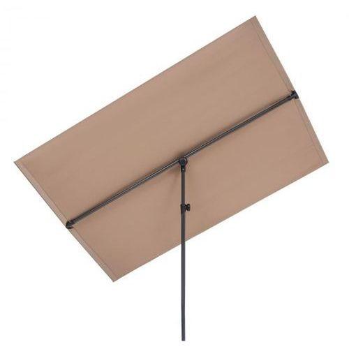 Blumfeldt flex-shade xl, parasol przeciwsłoneczny, 150 x 210 cm, poliester, uv 50, szarobrązowy (4060656225468)