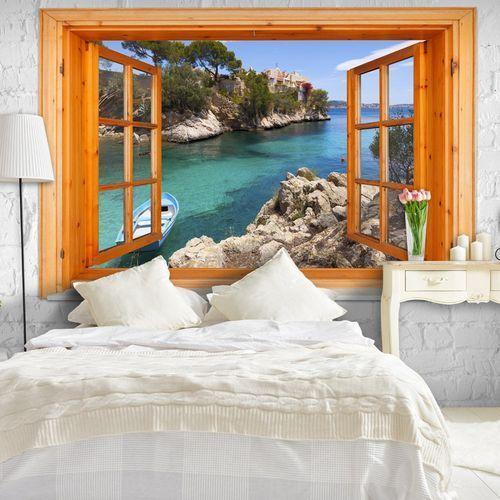 Fototapeta - śródziemnomorski pejzaż marki Artgeist