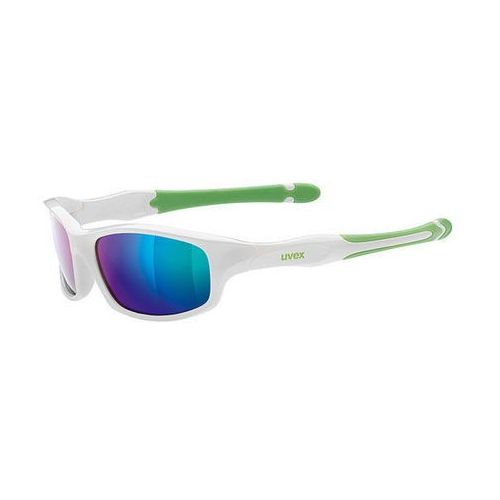 Okulary sportstyle 507 biały-zielony / kolor soczewek: zielone / rodzaj szkieł: standardowe marki Uvex