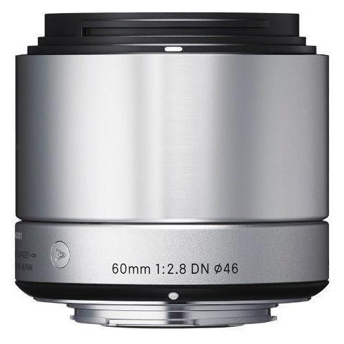 Obiektyw SIGMA A 60/2.8 DN Sony-E Srebrny + DARMOWY TRANSPORT!
