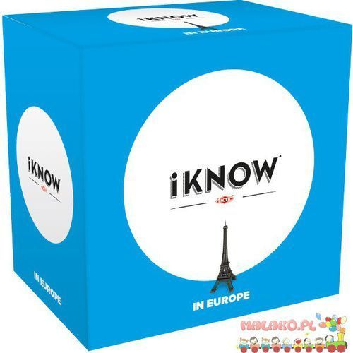 iKNOW: W Europie - produkt z kategorii- Pozostałe gry towarzyskie