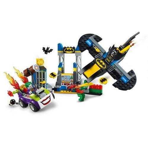 Lego JUNIORS Atak jokera na jaskinię batmana the joker batcave attack 10753
