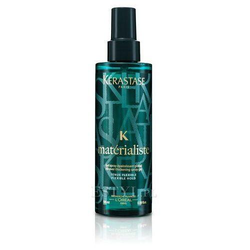 couture styling materialiste spray żel pogrubiający włosy 195ml marki Kerastase