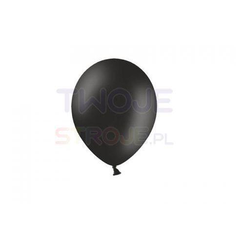 Twojestroje.pl Balon lateksowy pastel czarny 12 cm 1 szt.