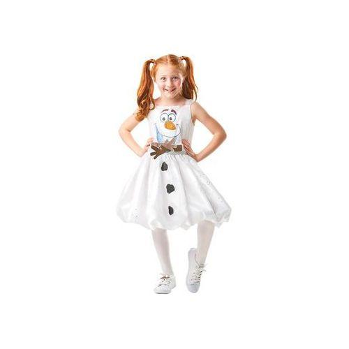 Kostium frozen 2 olaf sukienka dla dziewczynki - 9-10 lat marki Rubies
