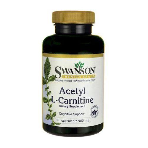 Swanson Acetyl L-Karnityny 500mg 100 kaps.