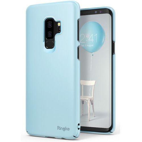 Etui Ringke Slim ultracienkie Samsung Galaxy S9 Plus G965 niebieskie (8809583847994)
