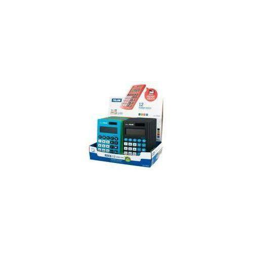 Milan Kalkulator kieszonkowy touch z satynową matową powłoką w dotyku jak gumka (8411574048824)