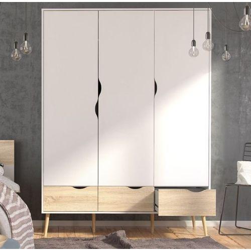 Szafa oslo 3d3s w stylu skandynawskim marki Tvilum