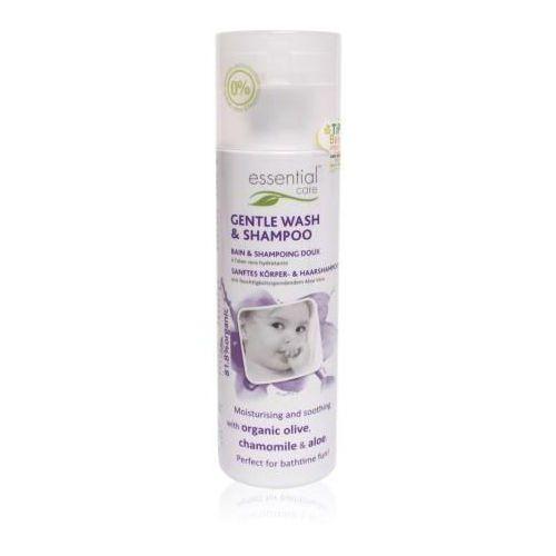 Essential care Delikatny płyn do mycia ciała i włosów dla niemowląt 50 ml