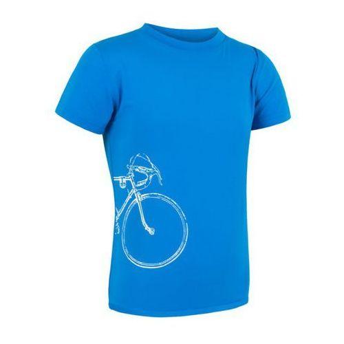 Dziecięce koszulka Sensor PT Coolmax Fresh Tour niebieskie 16100074 - sprawdź w wybranym sklepie