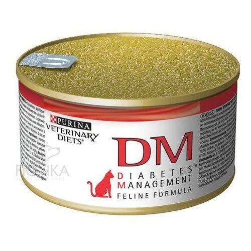 Purina Cat Veterinary Diets DM Diabetes Management 195g puszka